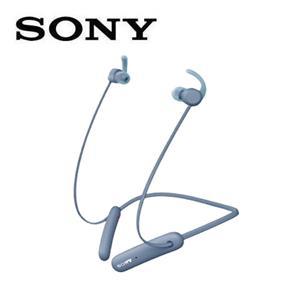 SONY無線藍牙運動式耳麥WI-SP510-L藍色