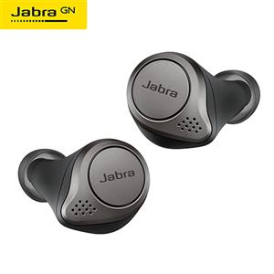Jabra 真無線耳機 Elite 75t  鈦黑
