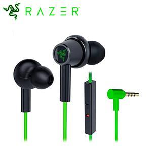 Razer 雷蛇 Hammerhead Duo Console 戰錘狂鯊入耳式耳機麥克風 綠