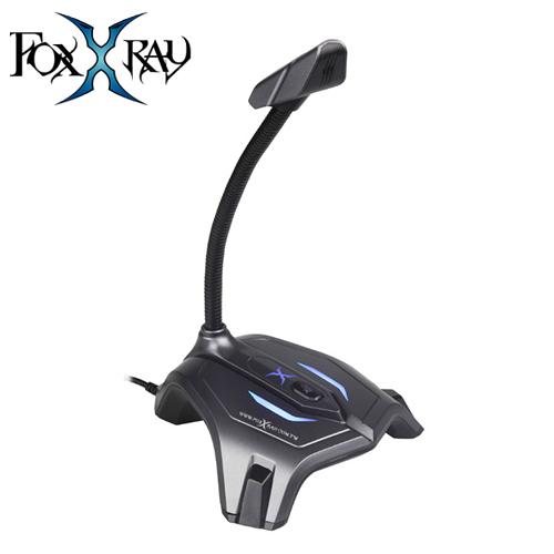 FOXXRAY 狐鐳 FXR-SUM-03 灰鐵響狐 USB電競麥克風