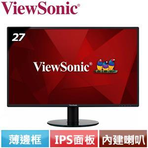 R2【福利品】ViewSonic優派 IPS 薄邊框螢幕 VA2719-2K