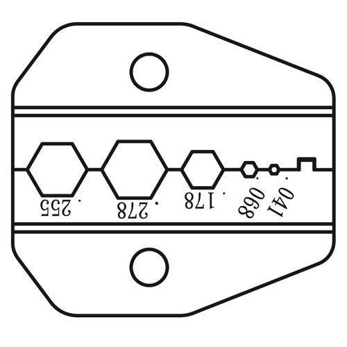 Pro'sKit寶工同軸口模1PK-3003D28