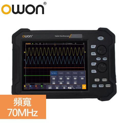 OWON 手持攜帶式示波器TAO 3074(70MHz/4通道)
