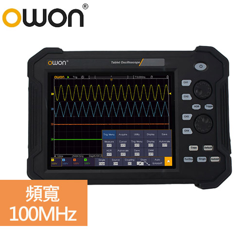 OWON 手持攜帶式示波器 TAO 3104 (100MHz/4通道)