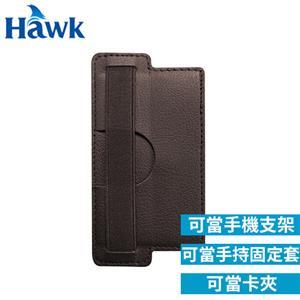 Hawk 浩客 Phone Buddy 3合1 手機卡夾 深咖啡