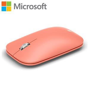 Microsoft 微軟 時尚行動滑鼠 蜜桃粉