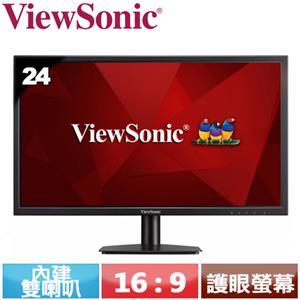 ViewSonic優派 24型 內建雙喇叭螢幕 VA2405-MH