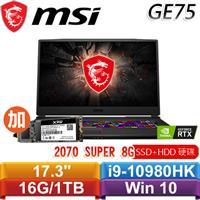 【加SSD】MSI GE75 Raider 10SFS-006TW 17.3吋