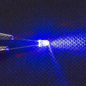 3mm 透明殼高亮度LED-藍光(100PCS入)