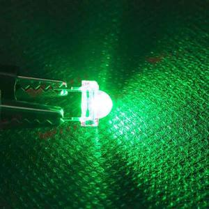 食人魚5mm高亮度LED-綠光(100pcs入)