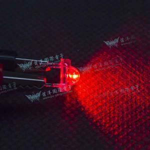 食人魚5mm 高亮度 LED-紅光(100pcs入)