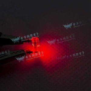食人魚平面高亮度LED-紅光(100pcs入)
