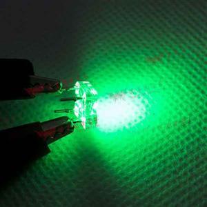 食人魚平面高亮度LED-綠光(100pcs入)