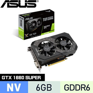 ASUS華碩 GeForce TUF-GTX1660S-O6G-GAMING 顯示卡