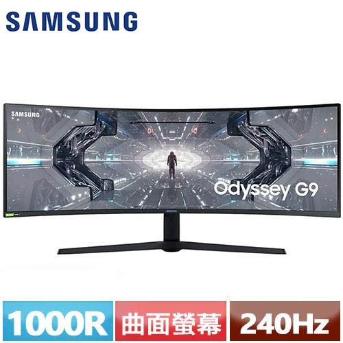 SAMSUNG三星 49型 1000R曲面電競螢幕 C49G95TSSC (odyssey G9)