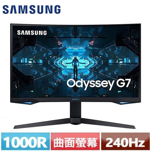 SAMSUNG三星 32型 1000R曲面電競螢幕 C32G75TQSC