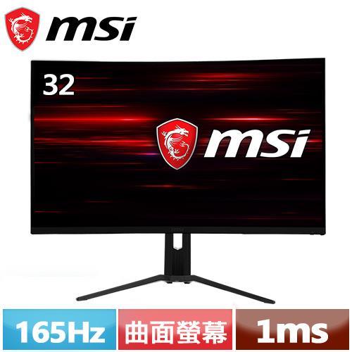 MSI微星 Optix 32型 1500R曲面電競螢幕 MAG322CQR