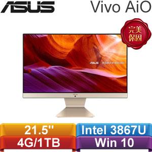 ASUS華碩 21.5吋 Vivo AiO V222UAK-867BA002T(黑曜金) AiO電腦