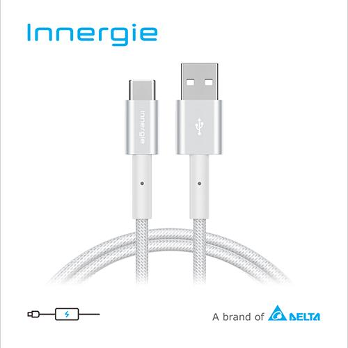 Innergie MagiCable USB-C to USB-A 充電傳輸線 銀 1m