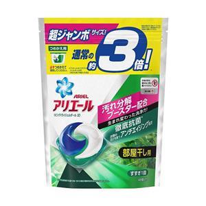 日本P&G 3倍洗衣膠球補充包46入X4綠色(抗菌消臭)