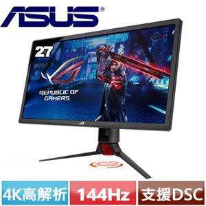 R2【福利品】ASUS華碩 27型 4K DSC電競螢幕 XG27UQ.