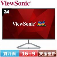 R1【福利品】ViewSonic優派 24型 IPS美型螢幕 VX2476-SH.