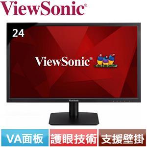 R1【福利品】ViewSonic優派 24型 廣視角超值螢幕 VA2405-H