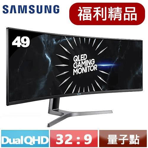 【福利精品★】三星 49型 Dual QHD 曲面電競螢幕 C49RG90SSC