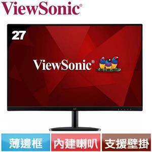 ViewSonic優派 27型 薄邊框液晶螢幕 VA2732-MH