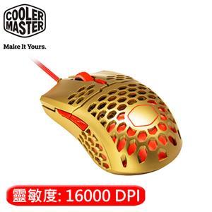 Cooler Master 酷媽 MM711 RGB 電競滑鼠 金