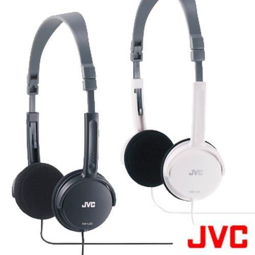 JVC摺疊型頭戴式耳機HA-L50-B 黑色