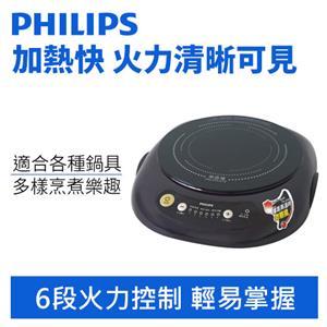 PHILIPS 飛利浦 HD-4998 不挑鍋黑晶爐-料理好幫手