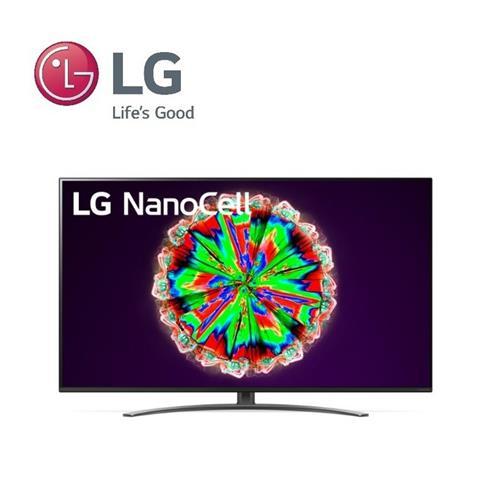 LG 65型4K奈米聯網電視  65NANO81WNA