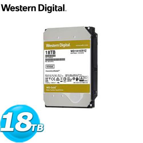 WD 威騰 WD181KRYZ 金標 18TB 3.5吋企業級硬碟