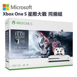 微軟Xbox One S 星際大戰 同捆組