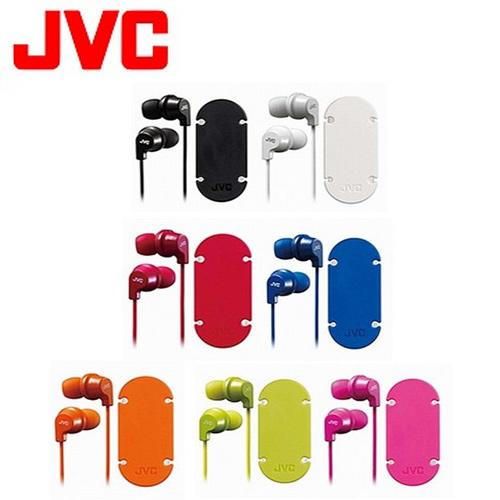 JVC 吸盤式捲線器耳道式耳麥 HA-FR21-W 白色