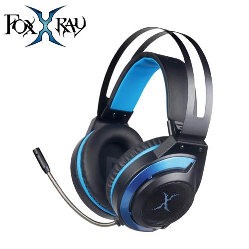 FOXXRAY 狐鐳 FXR-SAU-19 炫藍響狐USB電競耳機麥克風