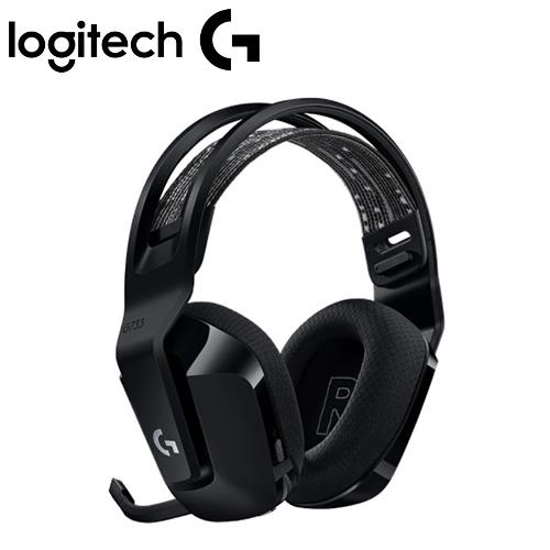 Logitech 羅技 G733 RGB炫光無線電競耳機麥克風 黑【贈特戰英豪耳機架】