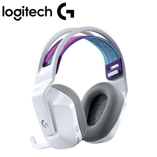 Logitech 羅技 G733 RGB炫光無線電競耳機麥克風 白【贈特戰英豪耳機架】