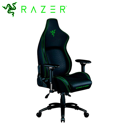 Razer 雷蛇 Iskur 人體工學設計電競椅 綠黑款