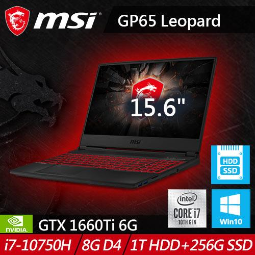 MSI微星 GL65 Leopard 10SDK-662TW 15.6吋電競筆電