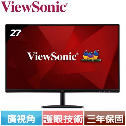 R2【福利品】ViewSonic優派 27型 IPS廣視角螢幕 VA2732-H.