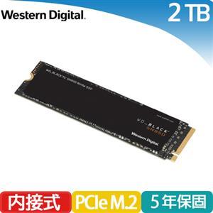 WD 威騰 黑標 SN850 2TB M.2 2280 PCIe SSD固態硬碟