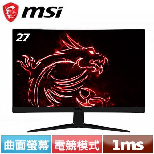 MSI 27型 G27C4 VA曲面電競螢幕