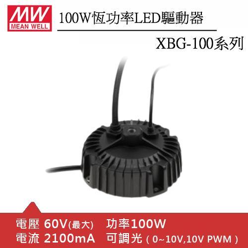 MW明緯 XBG-100-AB 恆功率LED驅動器 (100W)