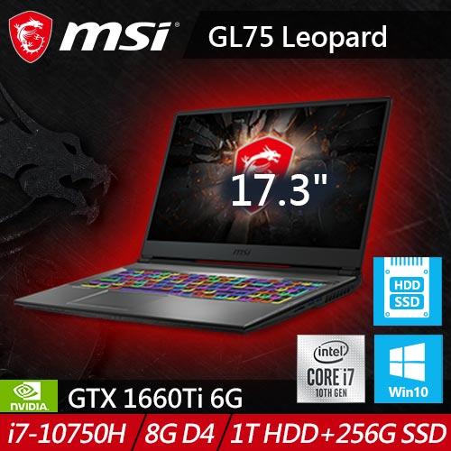 MSI微星 GL65 Leopard 10SCSK-208TW 15.6吋電競筆電