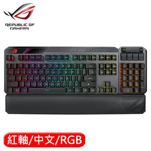 Asus 華碩 ROG Claymore II 機械電競鍵盤 RX紅軸 中文