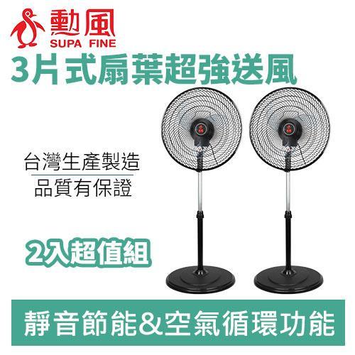 勳風 HF-B1622 16吋超循環立扇(2入組)