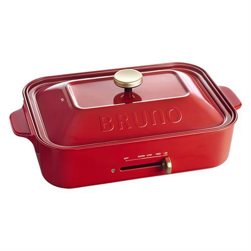BRUNO BOE021 多功能電烤盤 紅色