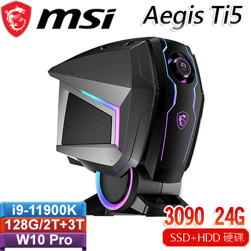 MSI微星 MEG Aegis Ti5 11TJ-222TW 電競桌機 RTX3090
